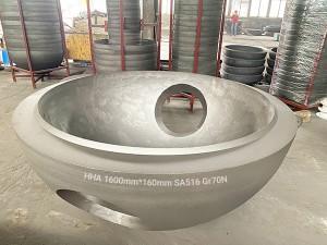 ASME pressure vessel heads & Hemispherical heads