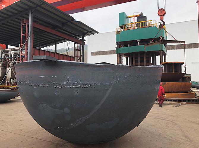 Dished Q345R HHA3854X65 carbon steel hemisphere hemispherical Tank Heads